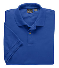 Traveler Short-Sleeve Solid Pique Polo