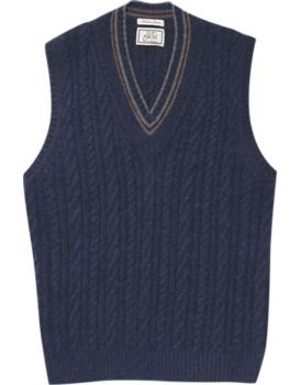 1905 Collection Cable Sweater Vest CLEARANCE - All Clearance | Jos ...
