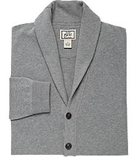 Men's Vintage Style Sweaters – 1920s to 1960s 1905 Tailored Fit Cardigan Jacket Big and Tall $89.50 AT vintagedancer.com