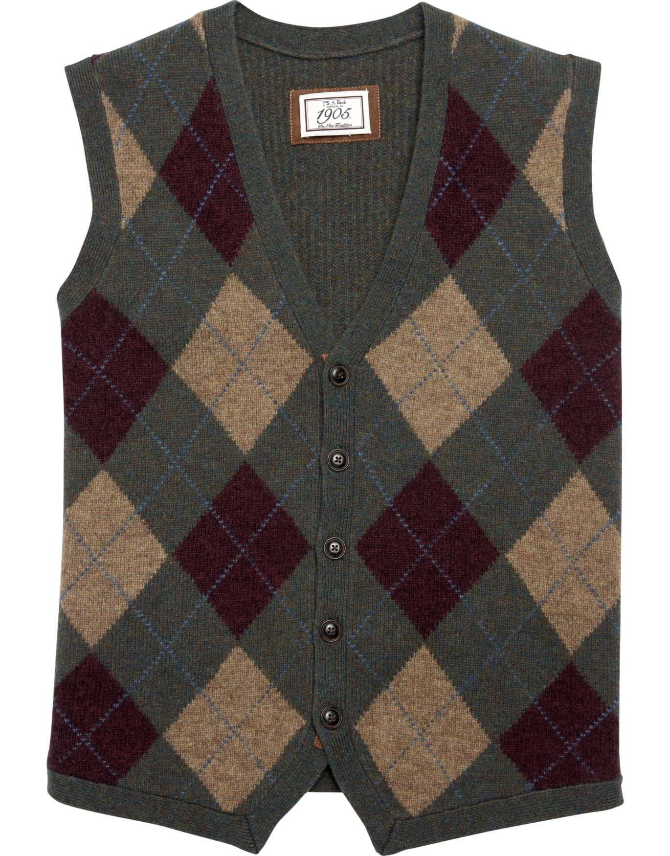 1905 Argyle Sweater Vest - Big and Tall CLEARANCE - All Clearance ...