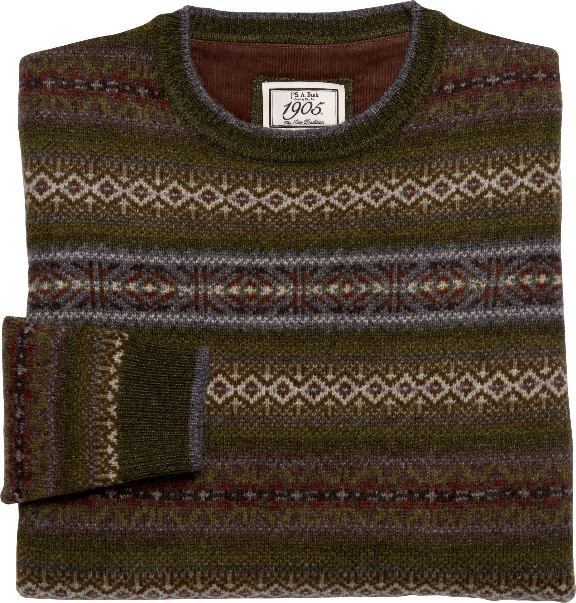 1905 Fair Isle Sweater - Big & Tall CLEARANCE - All Clearance ...