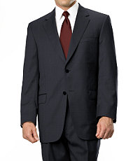 Signature Gold 2-Button Wool Suit