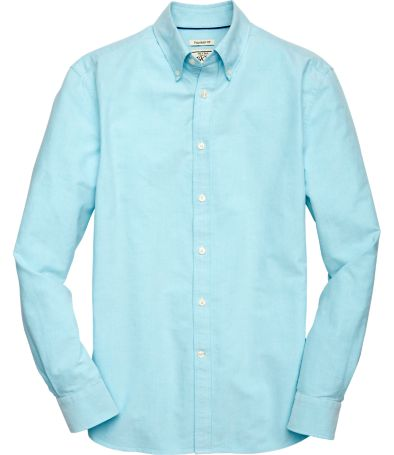 1905 Collection Tailored Fit Button-Down Collar Oxford Sportshirt ...