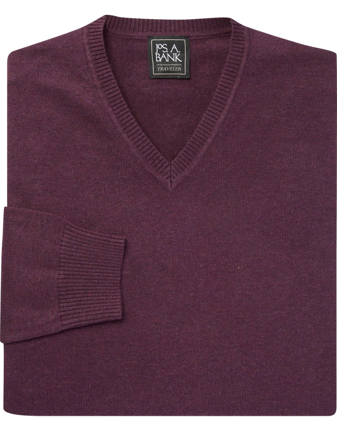 Traveler Collection Pima Cotton V-Neck Sweater - Cotton Sweaters ...