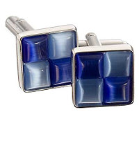 Two-tone Square Cufflinks