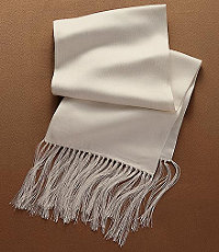 Formal Silk Jacquard Scarf