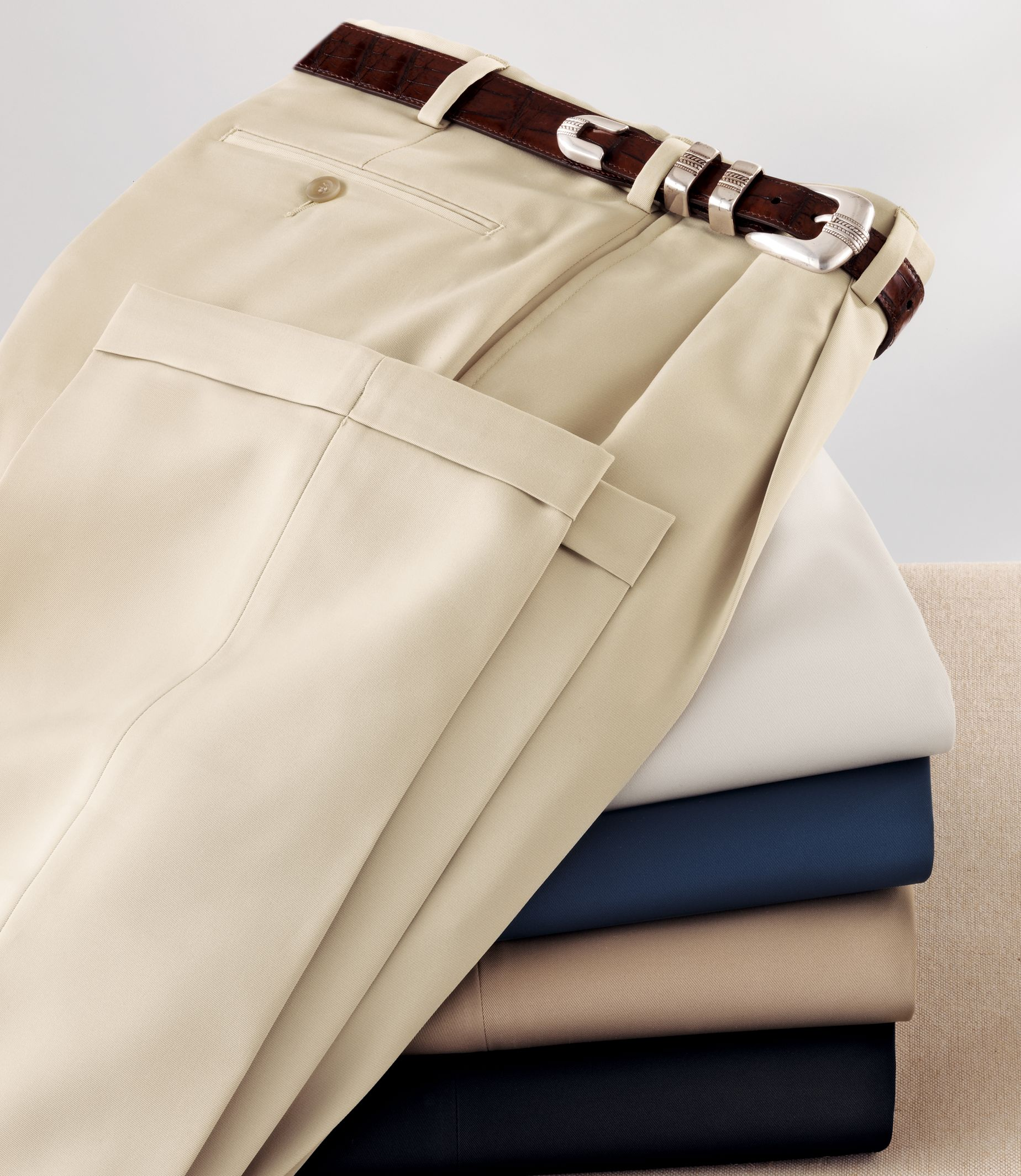 David Leadbetter's Pleated Front 1940s style Pants