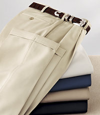 David Leadbetter's Pleated Front Performance Golf Pants