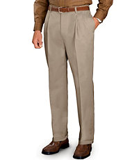 Traveler Pleated Khakis
