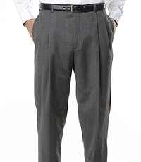 Signature Pleated Front Suit Trousers- Sizes 50-56