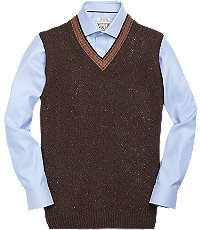 Men's Vintage Style Sweaters – 1920s to 1960s 1905 Collection Lambswool Mens Sweater Vest - Big  Tall - Xx Large Navy $79.50 AT vintagedancer.com