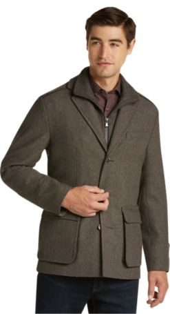 Reserve Collection Tailored Fit Car Coat - Reserve Outerwear | Jos ...