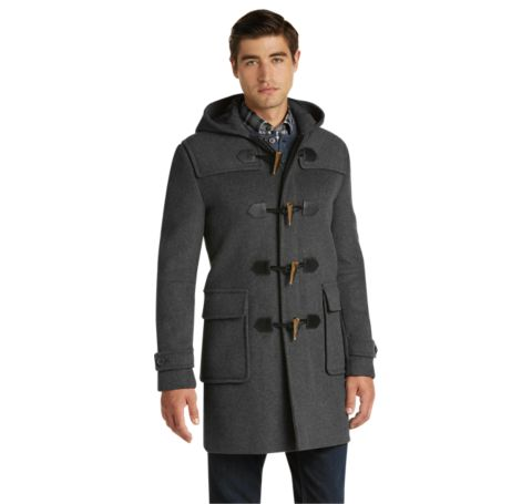1905 Collection Traditional Fit 3/4 Length Duffle Coat - Big ...