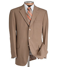 Natural Stretch 3-Button Poplin Suit