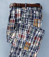 Pleated Front Madras