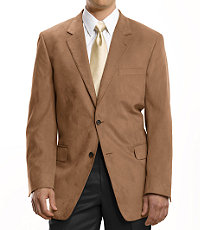 Executive 2-Button Sueded Microfiber Sportcoat