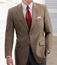 Signature Collection Traditional Fit Patterned Sportcoat