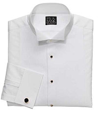 Signature Dobby Wing Collar Formal Dress Shirt