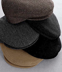 1930s Mens Hat Fashion Ivy Wool Cap CLEARANCE $29.98 AT vintagedancer.com