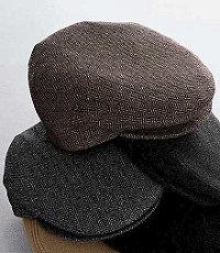 Ivy Wool Herringbone Cap