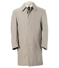 Three-Quarter Length Tri-Blend Raincoat