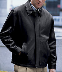 New Zealand Open Bottom Lambskin Jacket