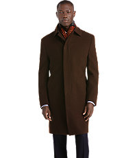Executive 34 Length Merino Wool Topcoat $450.00 AT vintagedancer.com