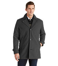 Executive Collection 3/4 Length Mens Car Coat