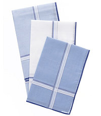 3 Pack Striped Handkerchiefs