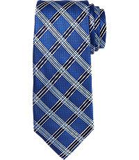 New 1930s Mens Fashion Ties Signature Grid Tie $79.50 AT vintagedancer.com