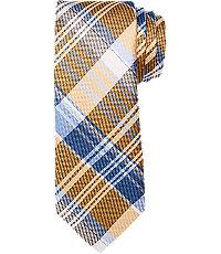 New 1930s Mens Fashion Ties 1905 Plaid Tie $59.50 AT vintagedancer.com