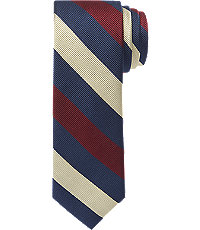 1905 Royal Army Medical Corps Repp Stripe Tie $59.50 AT vintagedancer.com