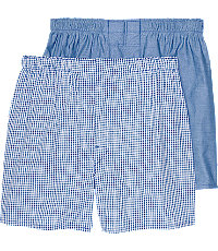 Jos. A. Bank Check & Solid Woven Boxers