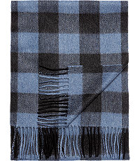 Jos. A. Bank Buffalo Plaid Cashmere Scarf