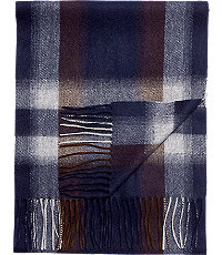 Jos. A. Bank Ombre Plaid Cashmere Scarf