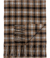 Jos. A. Bank Gingham Cashmere Scarf