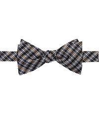 1905 Micro Grid Self-Tie Bow Tie $49.50 AT vintagedancer.com