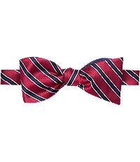 1920sMensTies038BowTies Executive Collection Stripe  Dot Pattern Tie $49.50 AT vintagedancer.com
