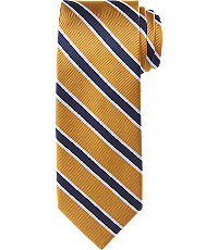 New 1930s Mens Fashion Ties Traveler Collection Stripe Tie $59.50 AT vintagedancer.com