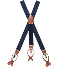 Men's Vintage Style Suspenders Textured Honeycomb Weave Elastic Button-In  Clip-On Suspenders $65.00 AT vintagedancer.com