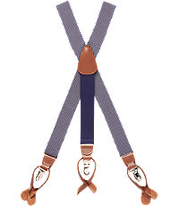 Men's Vintage Style Suspenders Textured Zigzag Weave Elastic Button-In  Clip-On Suspenders $65.00 AT vintagedancer.com