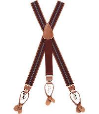 Men's Vintage Style Suspenders Textured Stripe Weave Elastic Button-In  Clip-On Suspenders $65.00 AT vintagedancer.com
