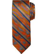 New 1940s Men's Ties, Neckties, Pocket Squares Reserve Collection Stripe Tie $79.50 AT vintagedancer.com