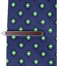 Jos. A. Bank Enamel Circle Pattern Tie Bar