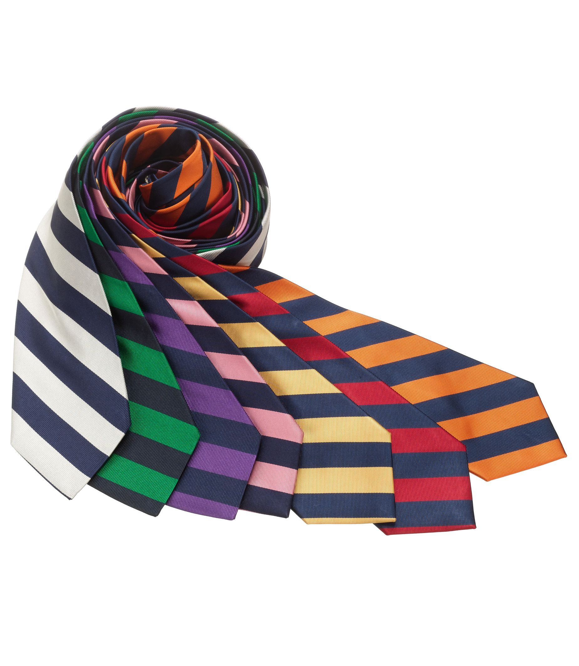 Regimental Guard Stripe Tie £52.33 AT vintagedancer.com