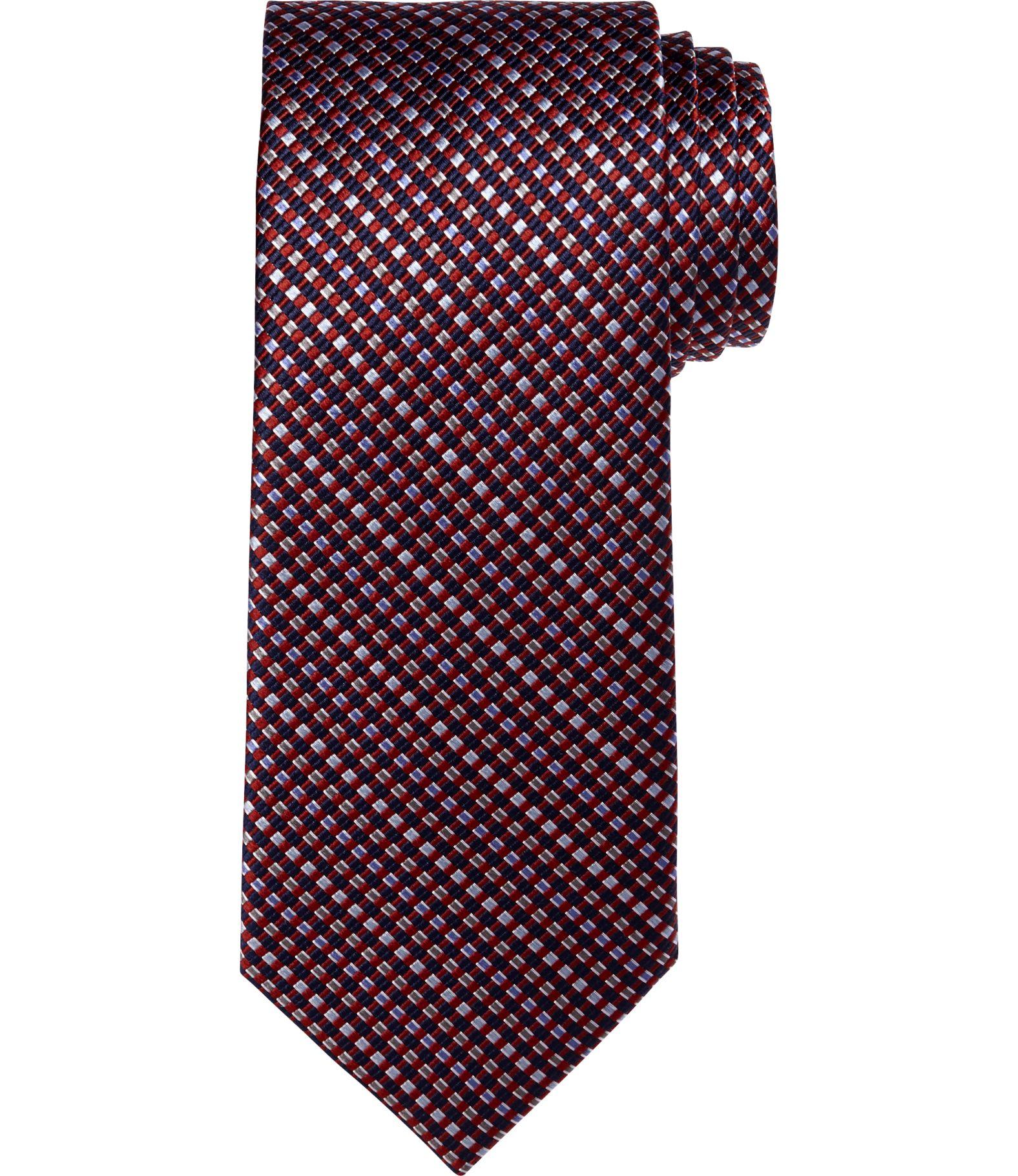 Men's Accessories, Traveler Collection Basketweave Tie  Jos A Bank