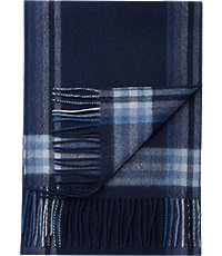Jos. A. Bank Plaid Stripe Cashmere Scarf