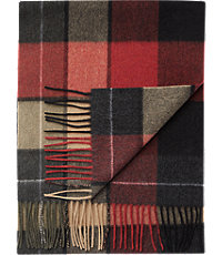 Jos. A. Bank Plaid Cashmere Scarf