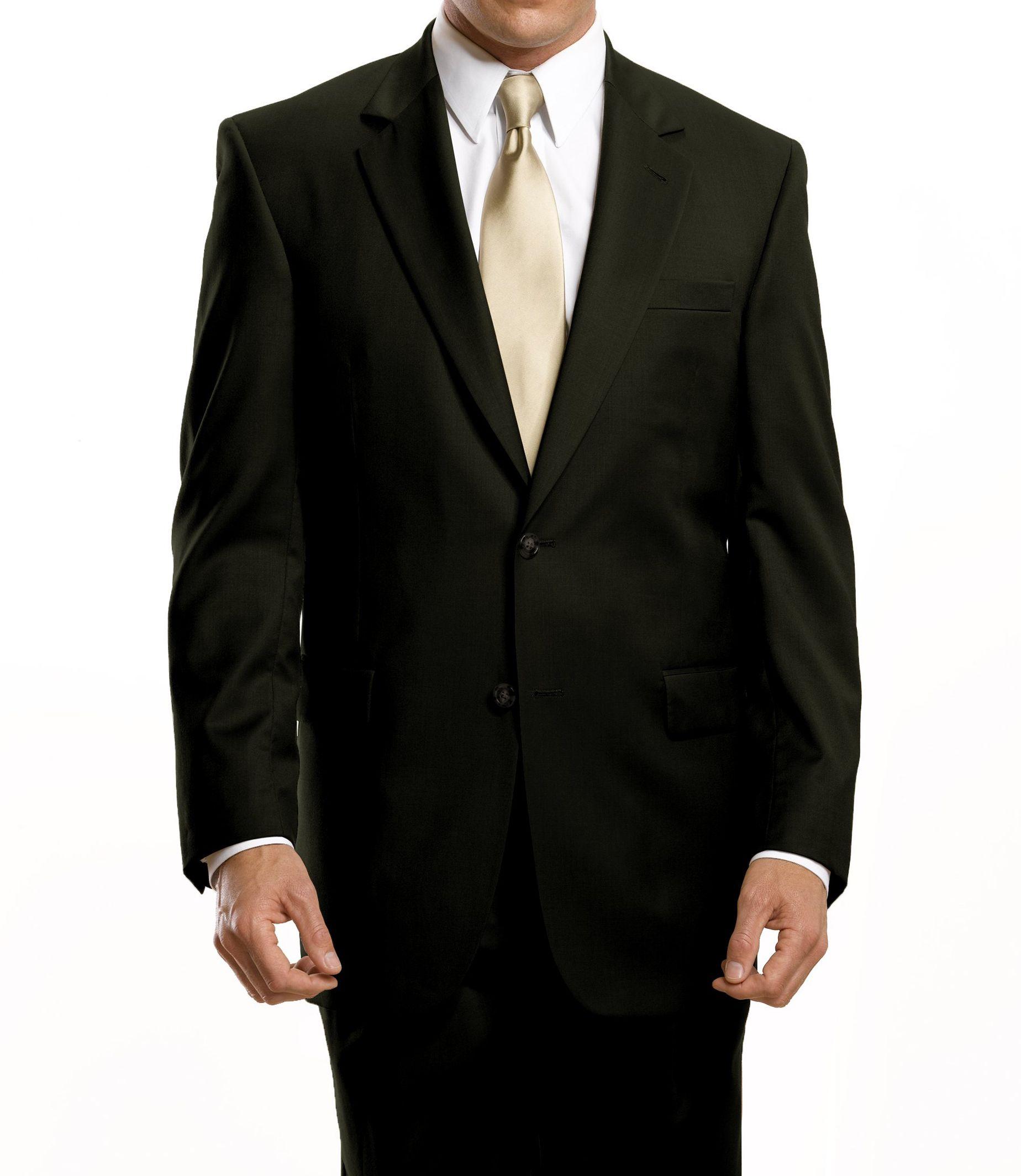 Signature 2-Button Wool Suit