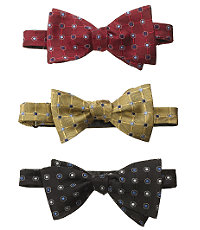 Grid with Circle Bow Tie